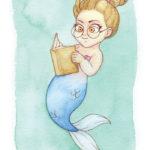 MerMay Day 2 Precocious Mermaid