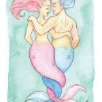 MerMay Day 10 Sweetheart Mermaids