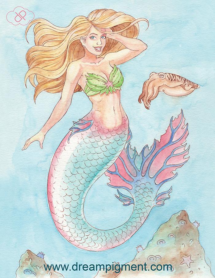 Mermaid Syphira Mersona